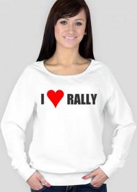 I love rally (bluza dla kobiet)