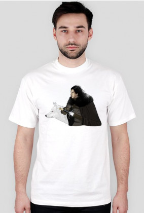 Koszulka męska - Jon Snow GAME OF THRONES