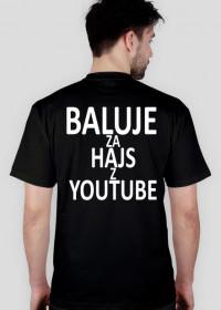 BALUJE ZA HAJS Z YOUTUBE Męska - czarna - wersja 1