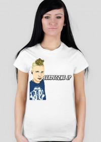Koszulka Damska Serdeczne JP