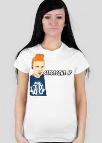 Koszulka Damska Serdeczne JP (rudy)