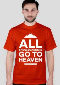 Koszulka męska - ALL SNOWBOARDERS (10 kolorów!)