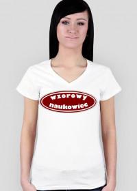 Koszulka damska Wzorowy naukowiec