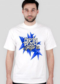 Dirty Rush & Gregor Es T - Shirt White