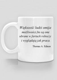 Kubek do kawy - Thomas Edison