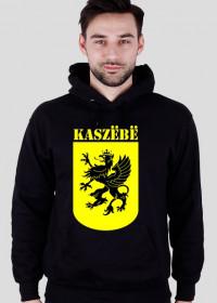 Kaszëbë - bluza czarna z kapturem