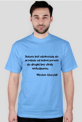 Koszulka - Winston Churchill męska