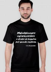 Koszulka - J. D. Rockefeller męska