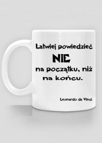 Kubek do kawy - Leonardo da Vinci