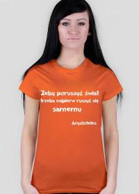 Koszulka - Arystoteles damska