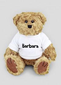 Maskotka Miś Barbara