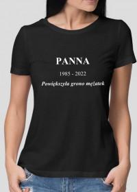 Koszulka na wieczór panieński z własną datą
