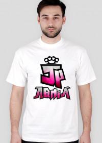 Koszulka JP Armia | Rozowa | Meska