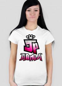 Koszulka JP Armia | Rozowa | Damska