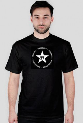Koszulka Klub 27 - Hendrix, Cobain, Winehouse, Morrison, Joplin
