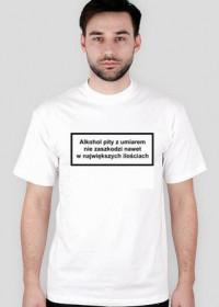 Minister zdrowia informuje - koszulka biała