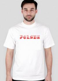 Koszulka Polska - biała