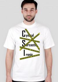 CSI CARE POLICE TSHIRT