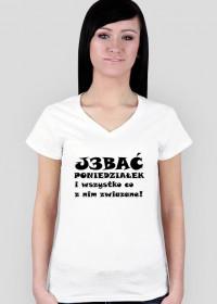 """Koszulka damska """"J3bać Poniedziałek"""""""