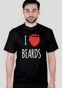 I love beard black