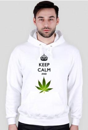 KEEP CALM - Bluza Męska