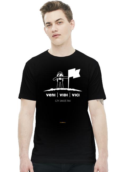 Veni Vidi Vici - czy jakoś tak - koszulki nietypowe - chcetomiec.cupsell.pl
