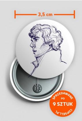 Przypinka Sherlock Holmes #1