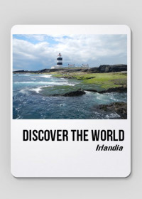 Discover the World - Irlandia Podkładka pod mysz