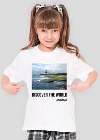 Discover the World - Irlandia Koszulka dla dziewczynki