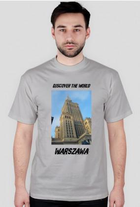 Discover the World - Warszawa Koszulka męska