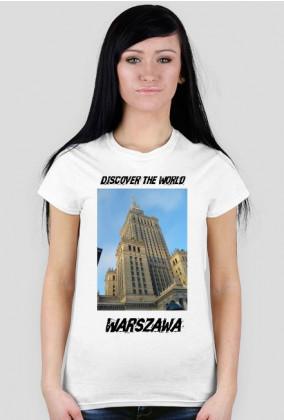 Discover the World - Warszawa Koszulka damska