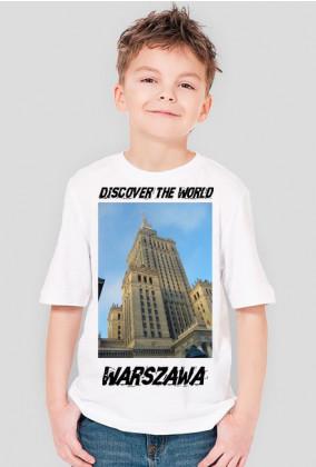 Discover the World - Warszawa Koszulka dla chłopca