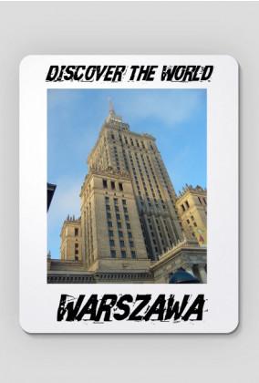 Discover the World - Warszawa Podkładka pod mysz