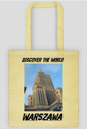 Discover the World - Warszawa Torba ekologiczna