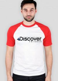 Koszulka męska (baseball) - DISCOVER THE FRISBEE (2 kolory!)