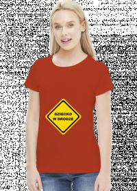 Koszulka dla przyszłych mam - Dziecko w drodze