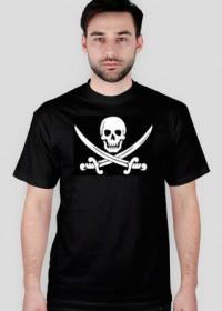 Koszulka czaszka pirat
