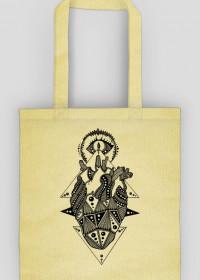 Black Art Heart Bag