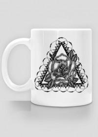 Black Art Rose Cup
