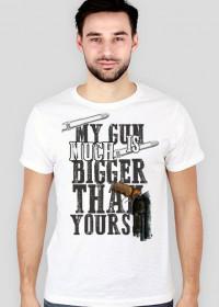 My gun is..- Koszulka męska