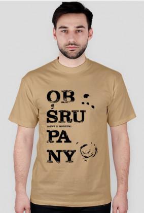 Obśrupana koszulka