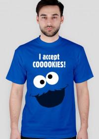 Ciasteczkowy potwór I accept cooookies! Got821 Blue DBWB