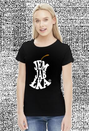 Jem jabłka (#jedzjablka, #jedz jabłka) by Szymy.pl - damska
