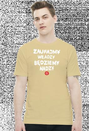 Zaufajmy władzy będziemy nadzy (by Szymy.pl) - ciemna męska