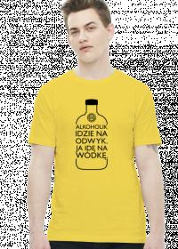 Alkoholik (wódka) by Szymy.pl - jasna męska