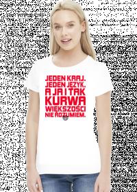 Jeden kraj (by Szymy.pl) - jasna damska