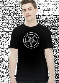 Koszulka pentagram z kozłem - Baphomet