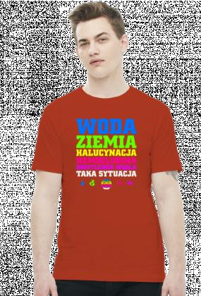 Woda Ziemia Halucynacja Dwutlenek Węgla Taka Sytuacja v2 (by Szymy.pl) - ciemna męska