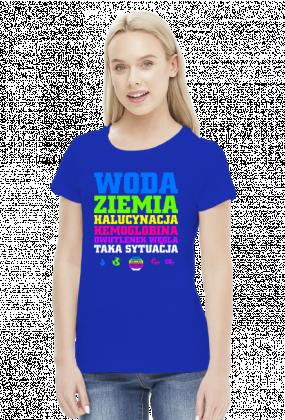 Woda Ziemia Halucynacja Dwutlenek Węgla Taka Sytuacja v2 (by Szymy.pl) - ciemna damska