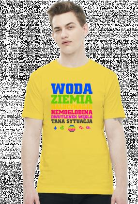 Woda Ziemia Halucynacja Dwutlenek Węgla Taka Sytuacja v2 (by Szymy.pl) - jasna męska